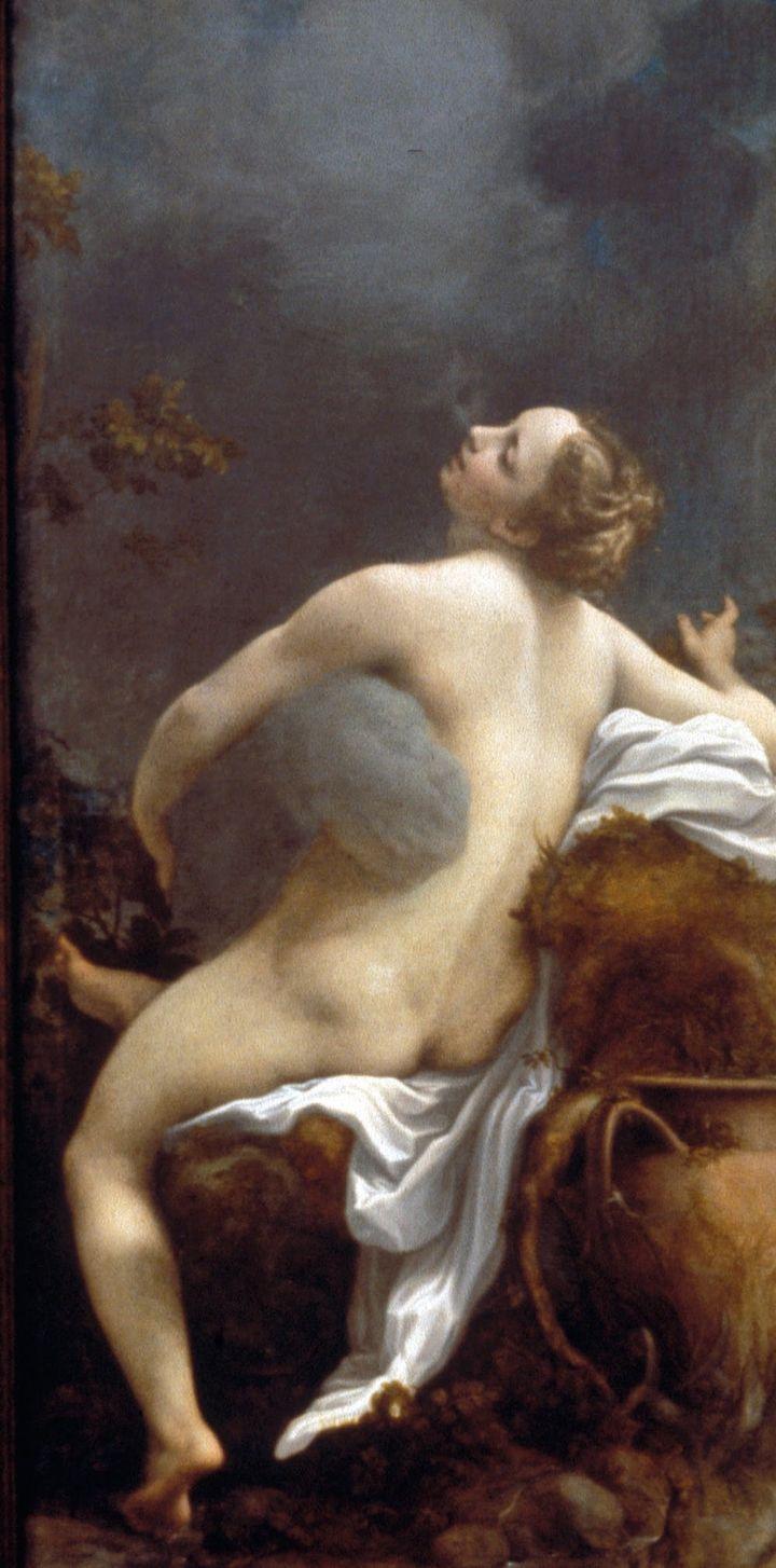 """Correggio. 'Jupiter and Io.' 1540s. Oil on canvas. <a rel=""""nofollow"""" href=""""https://commons.wikimedia.org/wiki/File:Antonio_Al"""