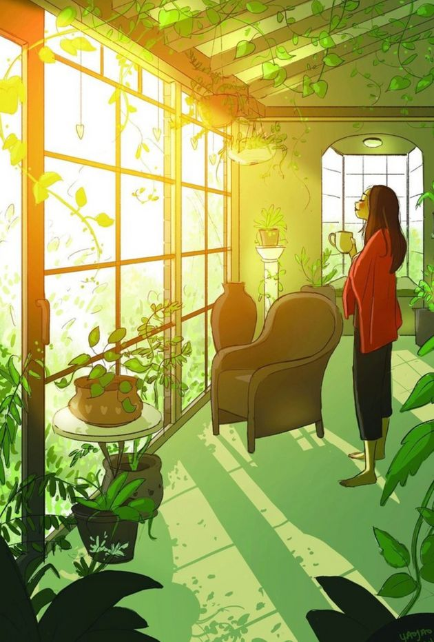 Morar sozinho: Essa artista capturou perfeitamente a intimidade de quem vive