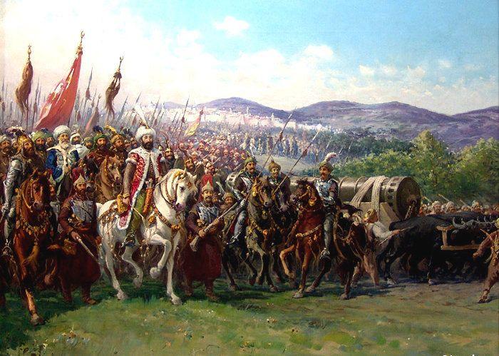 Οθωμανικό πυροβολικό: ο πραγματικός πορθητής της