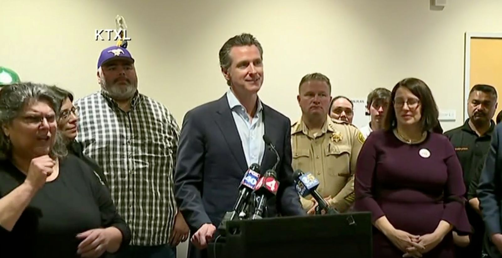 Gavin Newsom announces an emergency order for fire prevention efforts.