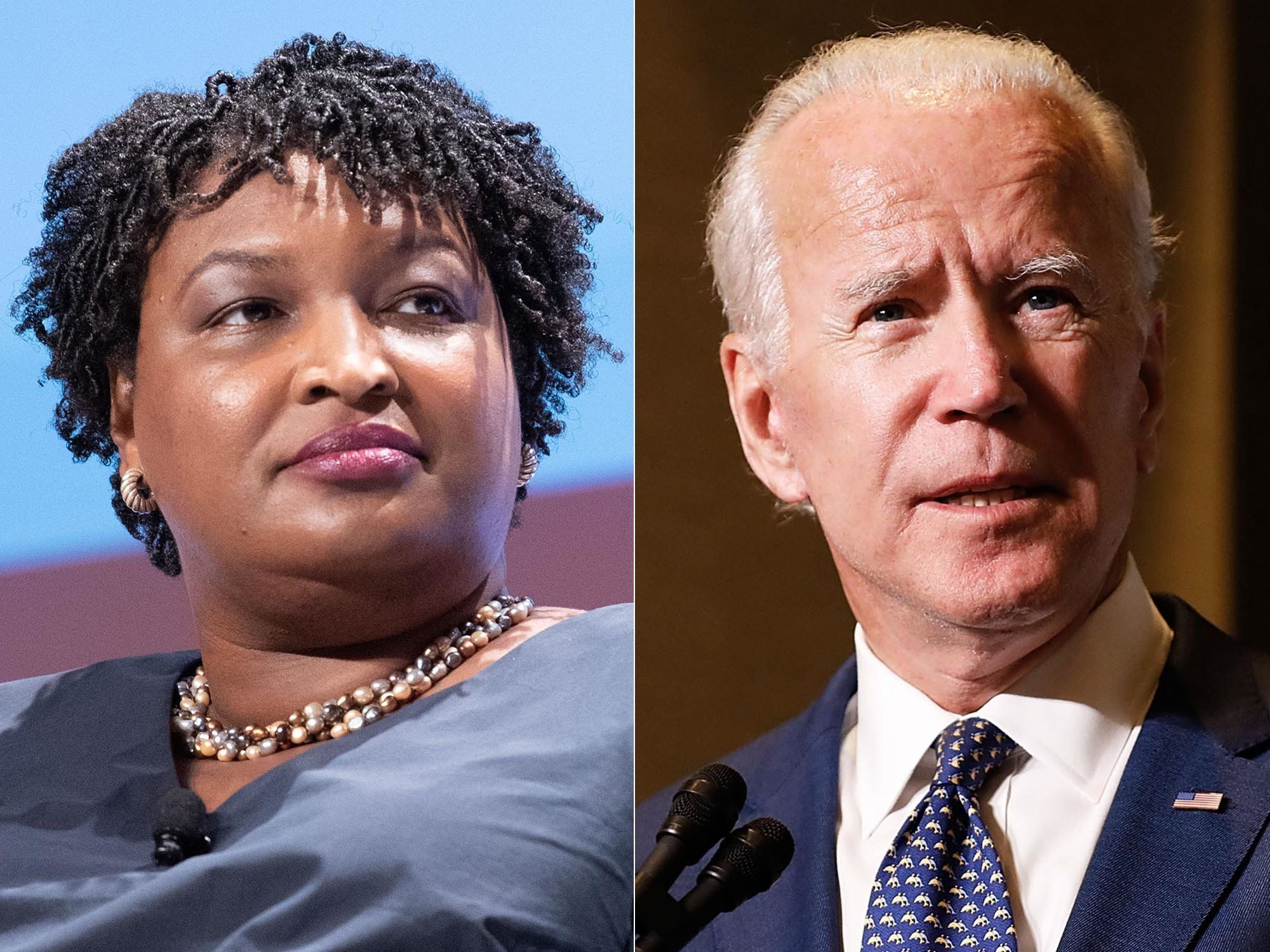 The Disrespect Of Floating Stacey Abrams As Joe Biden's Running