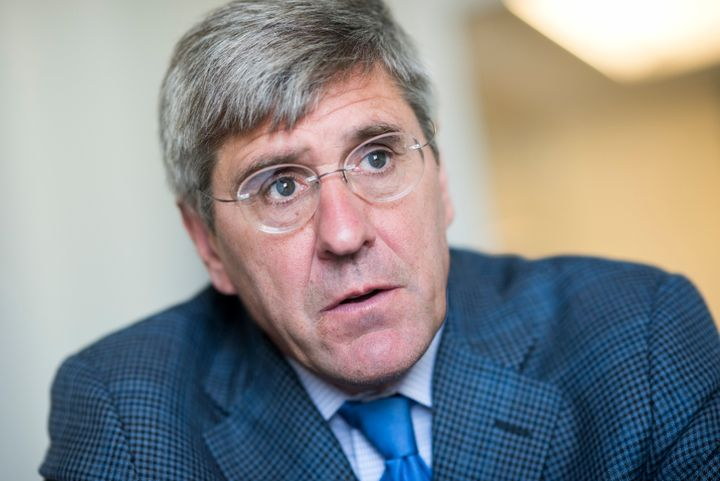 President Donald Trump tweeted on Friday that he will nominate Stephen Moore to serve on the Federal Reserve's Board of Governors.