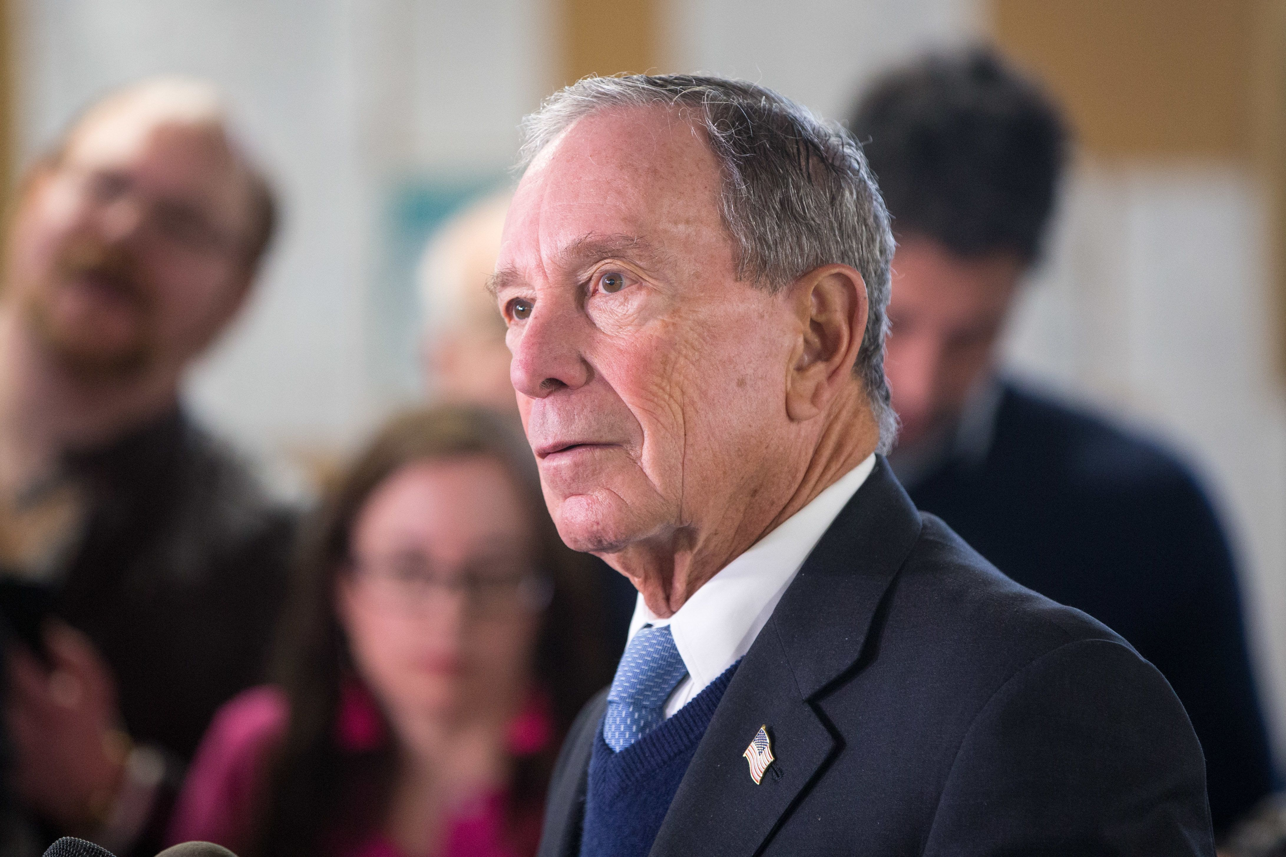 Michael Bloomberg Says He Won't Go On Joe Biden's White Male 'Apology