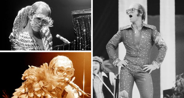 Elton John's Most Gloriously Over-The-Top Costumes Through The
