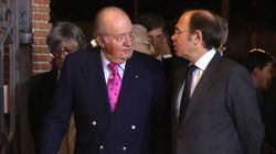 Sorpresa por el aspecto de Juan Carlos I al presidir una gala del