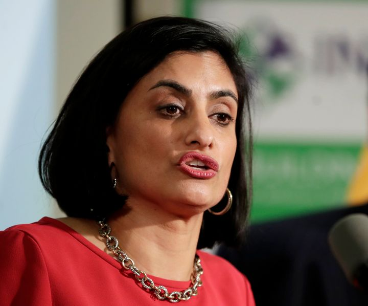 Seema Verma, the Trump administration official in charge of Medicaid, says work requirements will improve self-sufficiency. T