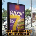バーガーキングの「炎上広告」ブラジルで話題に