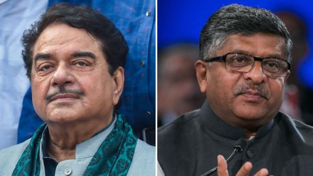 Ravi Shankar Prasad replaces Shatrughan Sinha in