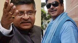 Ravi Shankar Prasad replaces Shatrughan Sinha in Patna