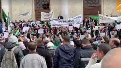 Marche des avocats contre le pouvoir à