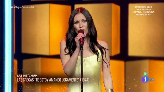 El detalle del vestuario de Las Ketchup en 'La mejor canción' que no pasó