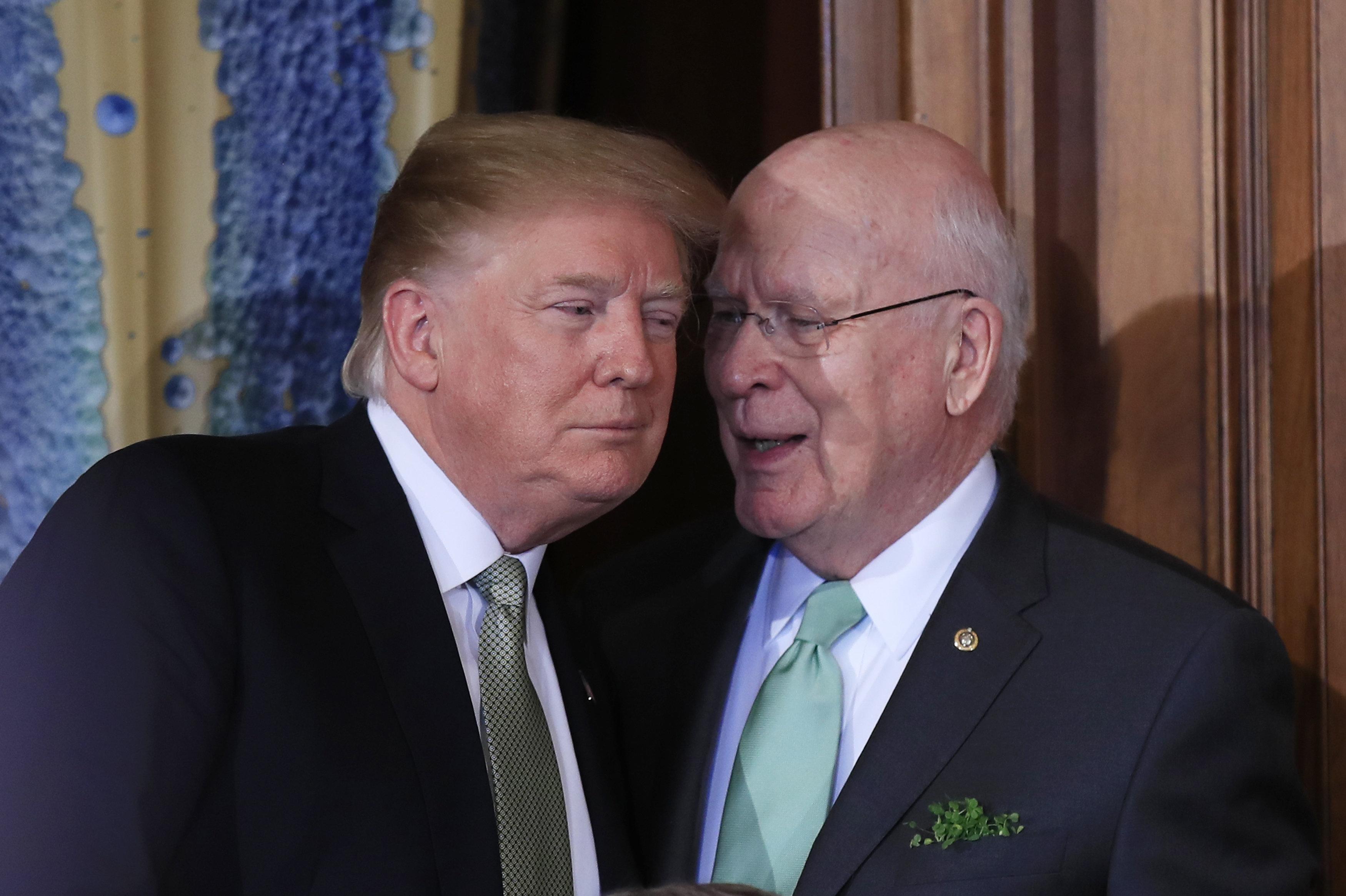 Leading Senate Democrat Warns Trump Against Nixon's