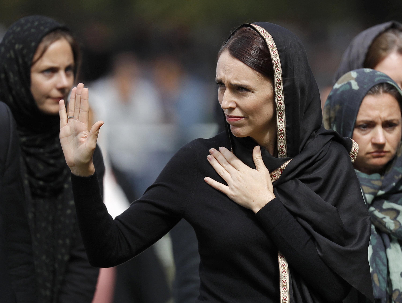 Jacinda Ardern, primeira-ministra da Nova Zelândia é apontada como exemplo de