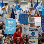 Manifestation géante à Londres pour un nouveau référendum sur le
