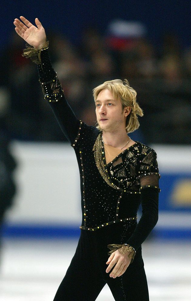 エフゲニー・プルシェンコ=ドイツで2004年3月、世界選手権の男子フリー「ニジンスキーに捧ぐ」