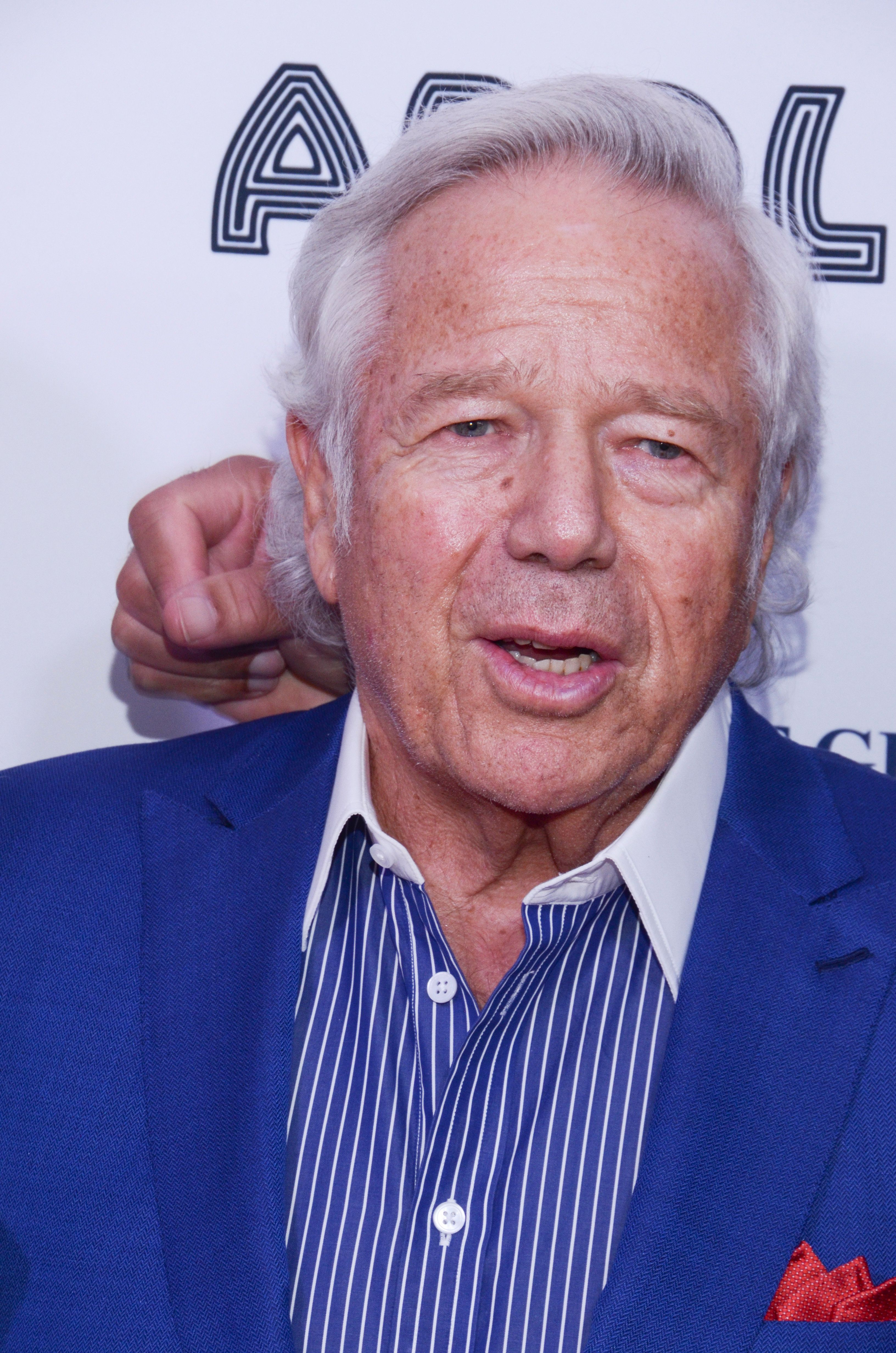 ***FILE PHOTO*** Robert Kraft Charged With Two Counts OF Soliciting Prostitution In Florida NEW YORK, NY - JUNE 4: Robert Kraft attends the Apollo Spring Gala Red Carpet on Monday, June 4, 2018. in Harlem, New York. Credit: Raymond Hagans/MediaPunch /IPX