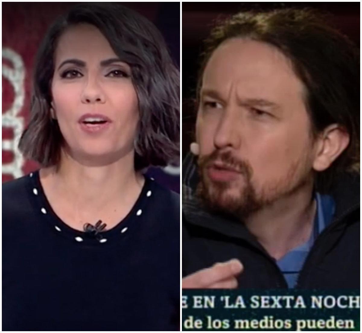 La respuesta de Ana Pastor a Pablo Iglesias tras este comentario sobre ella en 'LaSexta