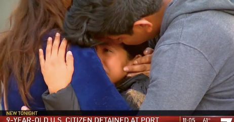Immigration Officials Snatch 9-Year-Old U.S. Citizen Heading To School, Hold Her For 2 Days