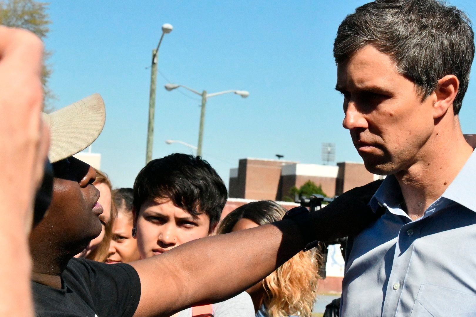 Beto O'Rourke Fine-Tunes Pitch To Black Voters In South Carolina