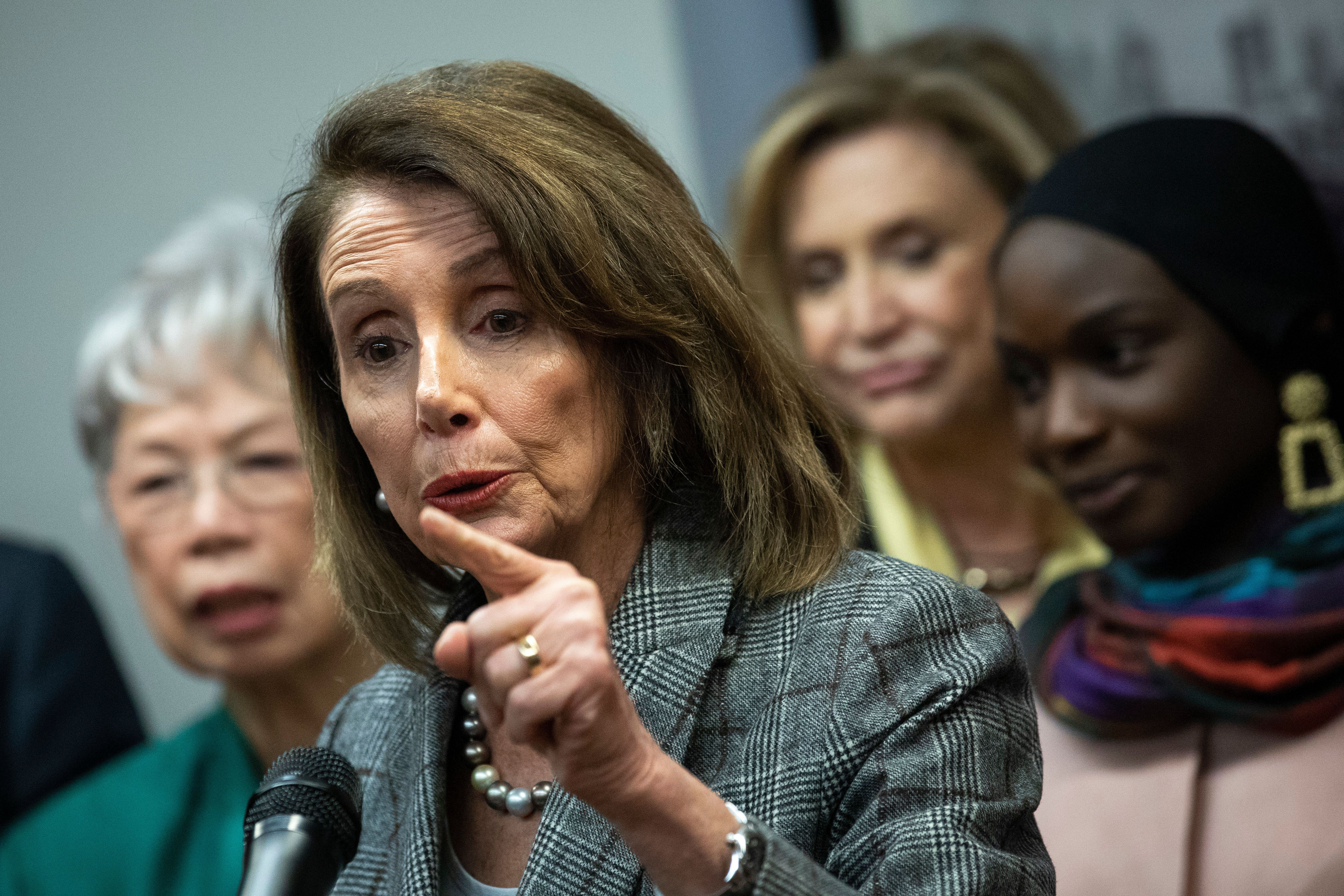 House Speaker Nancy Pelosi says Democrats will fight for transparency in the release of special counsel Robert Mueller's find