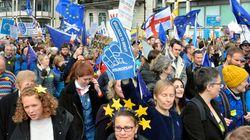 ロンドンで「100万人」デモ。EU離脱をめぐり2度目の国民投票を求める