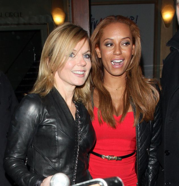 Geri Horner and Mel B, pictured in