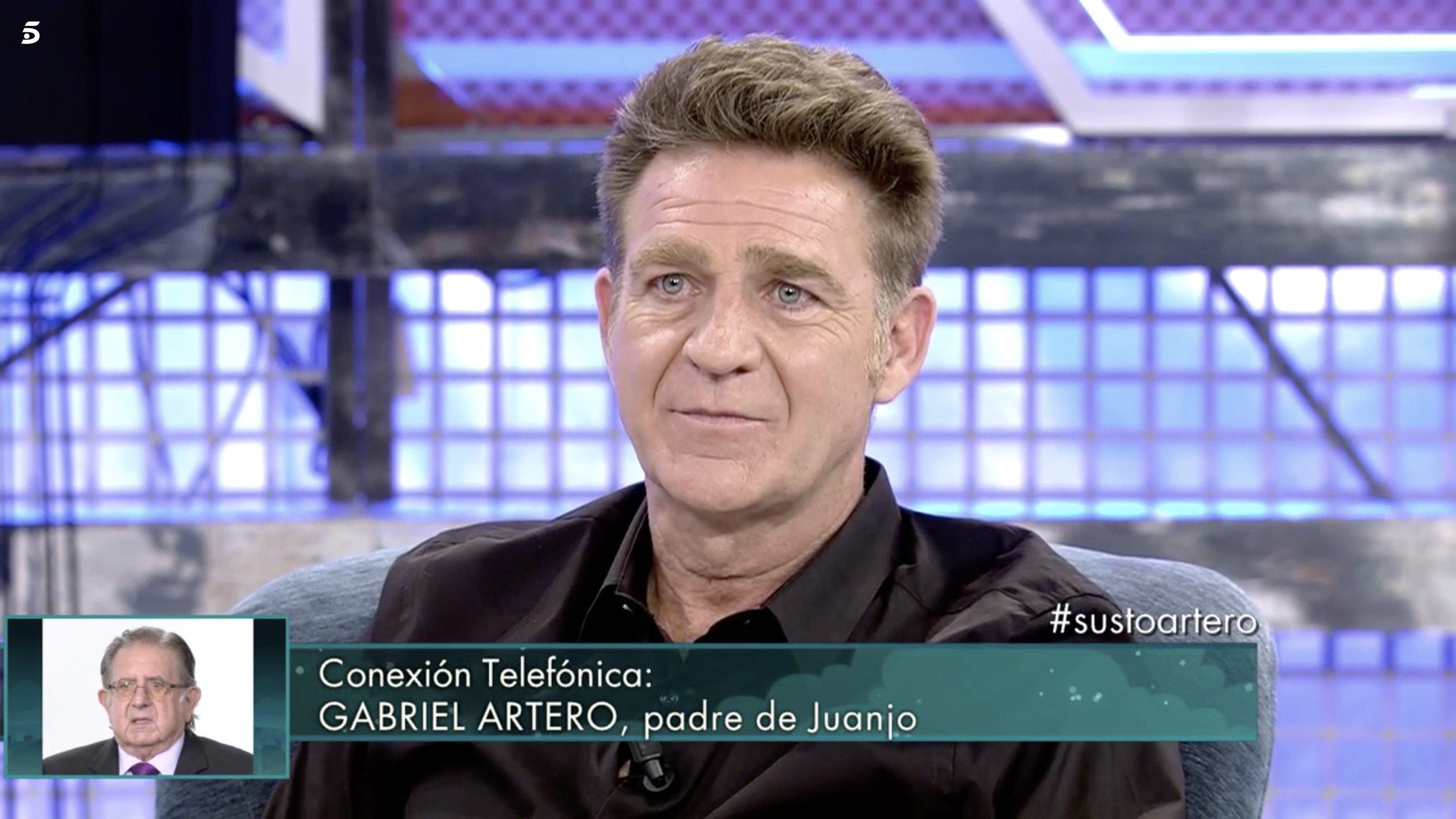 Juanjo Artero reaparece en 'Sábado Deluxe' tras el infarto pulmonar que