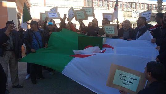 Sit-in des employés de plusieurs APC à Alger contre le pouvoir en