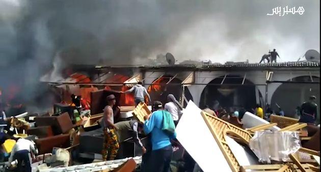 Les dégâts matériels s'annoncent d'ores-et-déjà