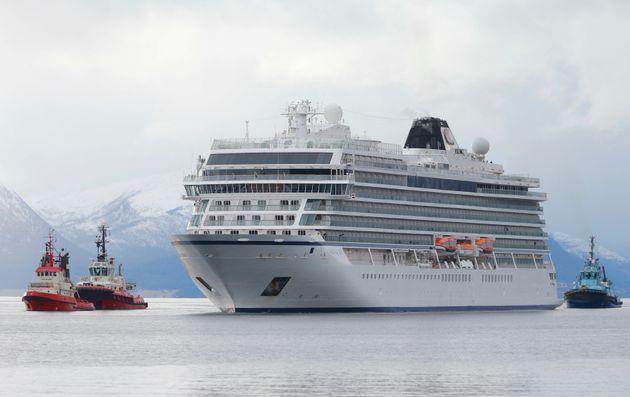 Νορβηγία: Κατέφθασε σε λιμάνι το κρουαζιερόπλοιο Viking