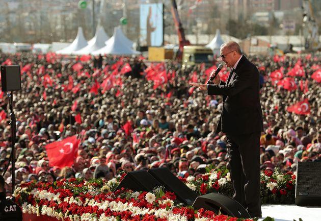 Ερντογάν: Η Τουρκία θα πάει το θέμα των Υψωμάτων του Γκολάν στον