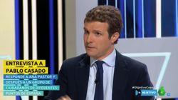 Pablo Casado admite en 'El Objetivo' que llamar