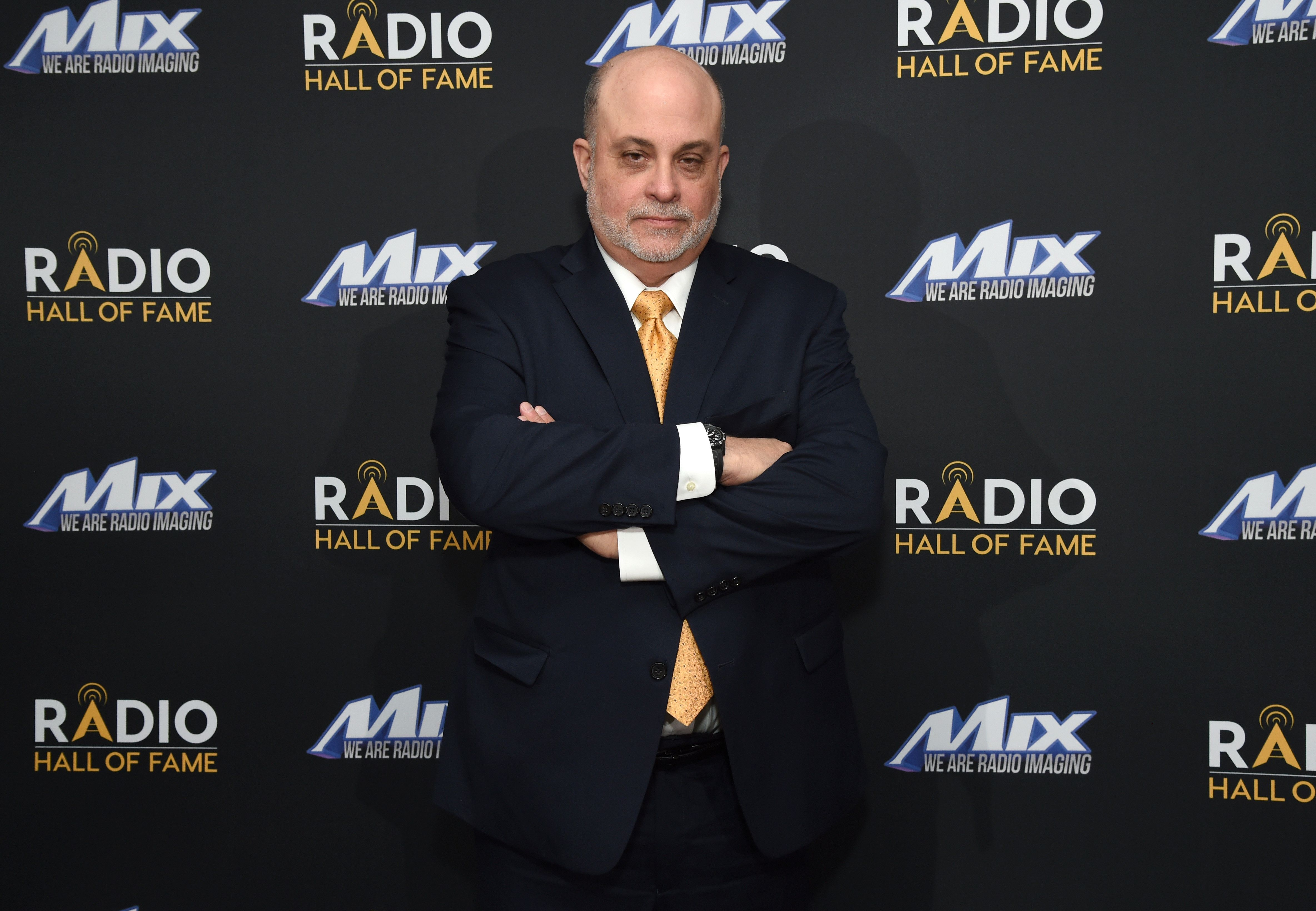 NEW YORK, NY - NOVEMBER 15:  Inductee Mark Levin attends Radio Hall Of Fame 2018 Induction Ceremony at Guastavino's on November 15, 2018 in New York City.  (Photo by Michael Kovac/Getty Images for Radio Hall of Fame )