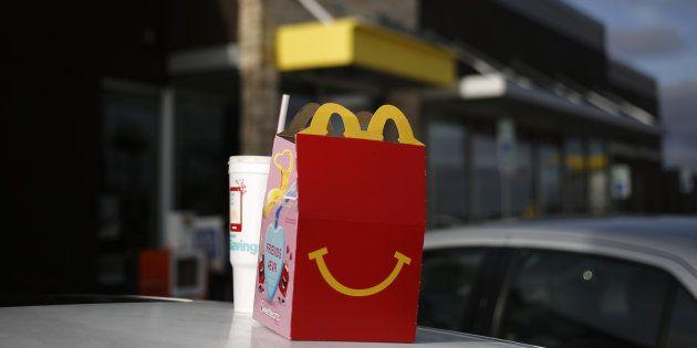 McDonald's lance un happy meal végétarien