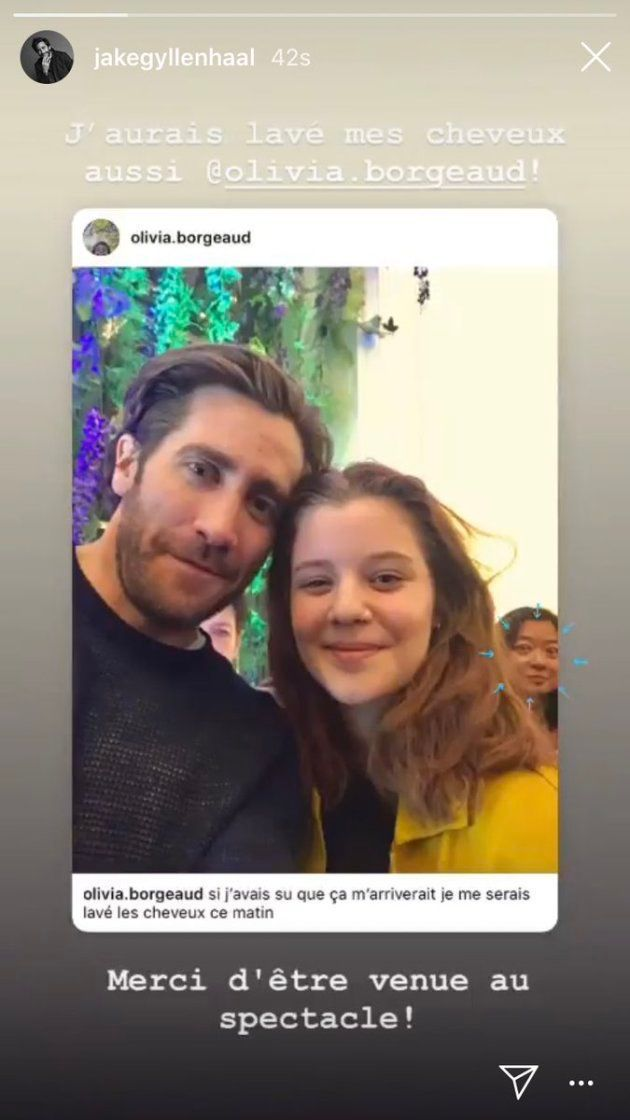 Jake Gyllenhaal est actuellement en représentation à New York pour la pièce Sea Wall/A