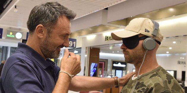 Au moment de faire le grand saut vers une destination inconnue, Frédéric Lopez a avoué à l'acteur français...