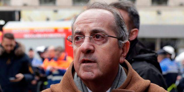 Le préfet de police de Paris Michel Delpuech à Paris le 12 janvier