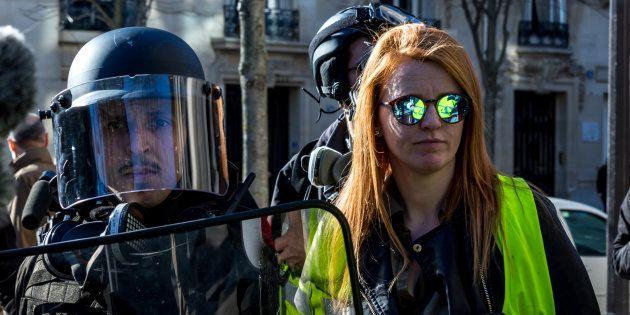 À la mi-février, Ingrid Levavasseur avait dû être escortée hors de la manifestation parisienne des gilets...