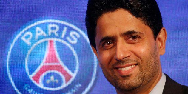 Nasser Al-Khelaïfi, président du PSG, qui était sous le coup d'une enquête sur le fair-play