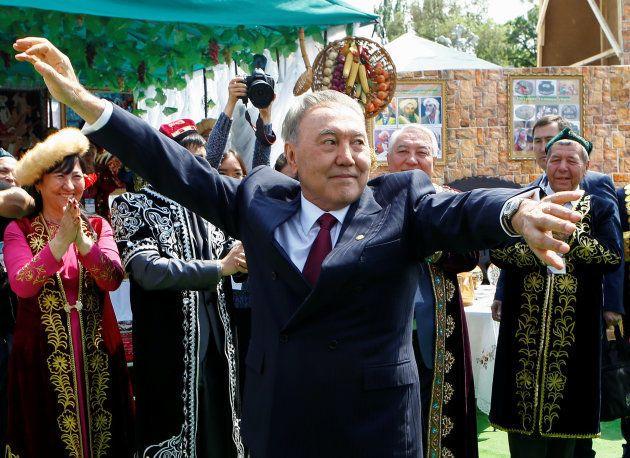 Noursoultan Nazarbaïev, président du Kazakhstan, a