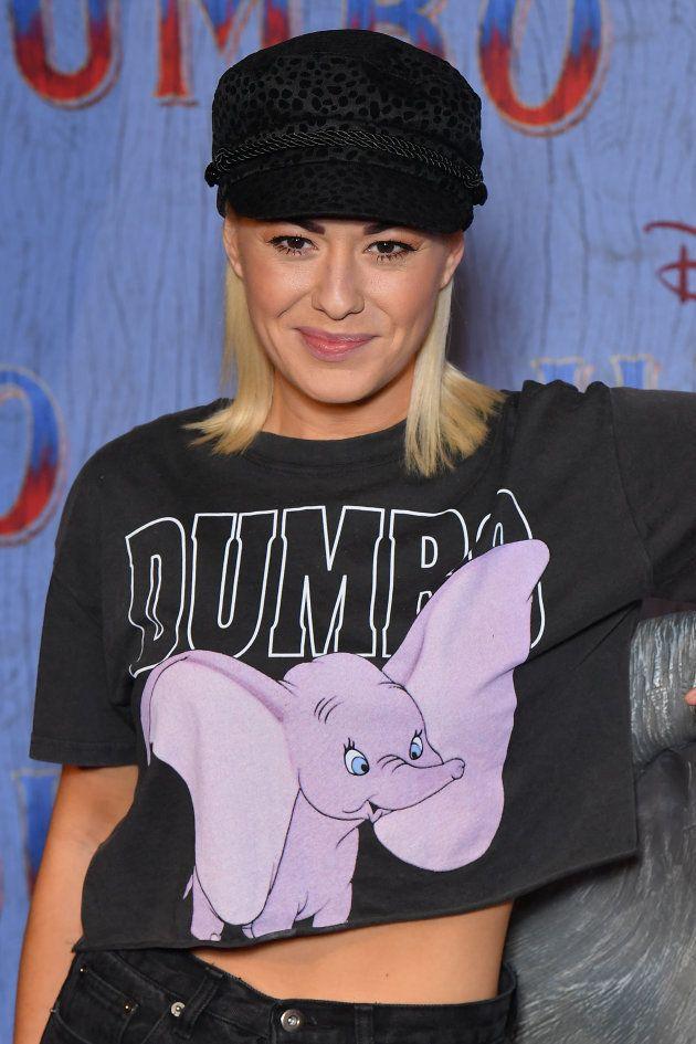 Katrina Patchett avait mis une tenue parfaitement adaptée à cette soirée de gala pour le film de Tim