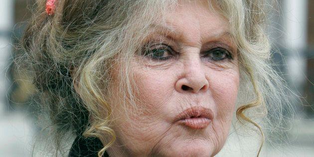 Brigitte Bardot au Palais de l'Élysée en