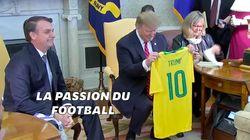Trump et Bolsonaro sont d'accord sur tout, même le