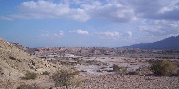 Le desert de La Laja, dans la province de San Juan, en Argentine. Un enfant de 6 ans y a survécu pendant...