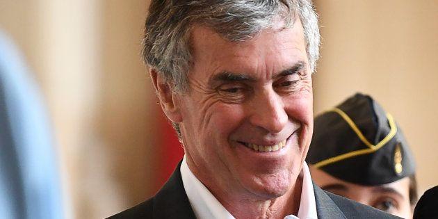 Jean-Guy Talamoni soutient Cahuzac et sa volonté d'ouvrir un cabinet en Corse (photo prise le 15 mai