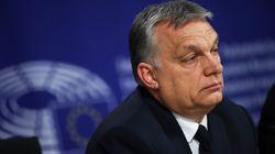 La droite européenne suspend le parti