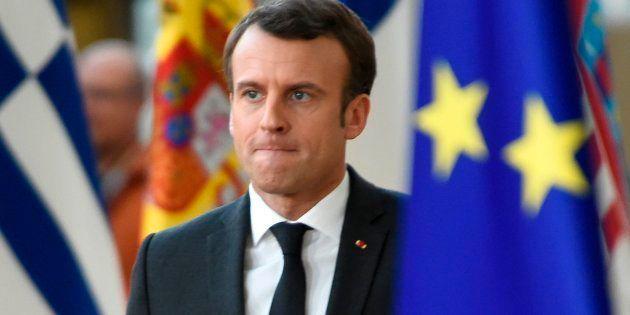 Emmanuel Macron est arrivé ce jeudi 21 mars à Bruxelles, où s'ouvre le sommet européen sur le