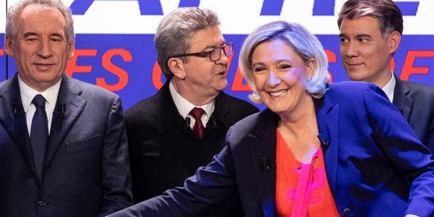 Le débat de BFM-TV de mercredi soir dans lequel Jean-Luc Mélenchon et Marine Le Pen ont entremêlé leurs