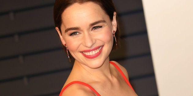Emilia Clarke lors d'une soirée de gala, en février dernier à Los
