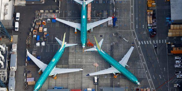 Boeing va rendre obligatoire la présence d'un signal d'alerte lumineux dans ses 737 MAX (Image d'illustration...
